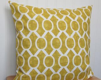Apple Green Geometric Pillow Cover, Green Throw Pillow, Apple Green Throw Pillow Cover, 18x18 Inch Apple Green Cushion