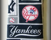 Eyeglass case - sunglasses case - glasses case - New York Yankees - Yankees eyeglass case - Yankees sunglass case - NY Yankees glasses case