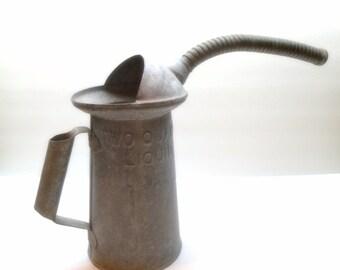 Vintage Lawson Two Quart Oil Can