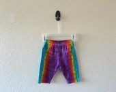 3-6 month tie dyed baby pants