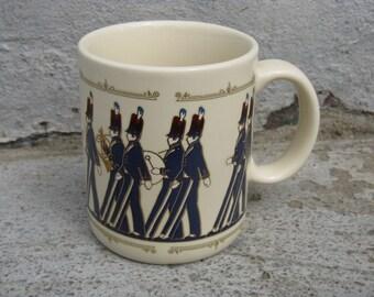 vintage hallmark marching band mug made in japan gift idea