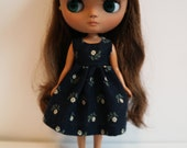 Navy Floral Middie/Odeco Dress