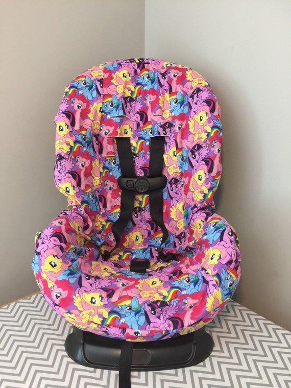 Ready To Ship Toddler Carseat Cover Made With My Little Pony