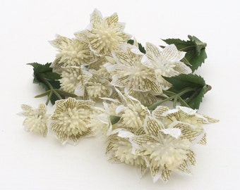 Artificial Astrantia Flowers - Wedding Flowers, Flower Crown, Halo, Silk Flowers