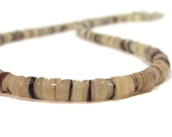 Natural 'Hammer' Shell Mens Necklace