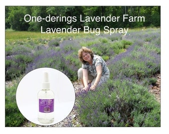 "Lavender Bug Spray-""All Natural"", Long Lasting and it works against flys, mosquitoes, and more."