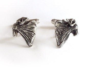 Anatomical Shoulder Cufflinks in sterling silver