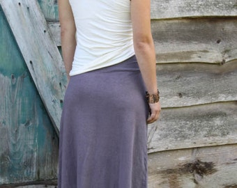 Market Skirt- Maxi Length-Organic Cotton and Hemp