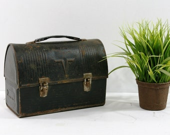 Rustic Vintage Man's Lunchbox