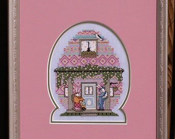 The Egg House PDF Cross Stitch