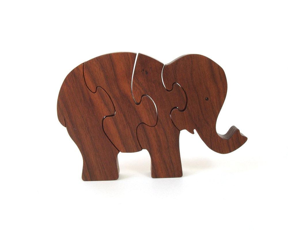 elephant en bois puzzle scie chantourner coupe waldorf. Black Bedroom Furniture Sets. Home Design Ideas