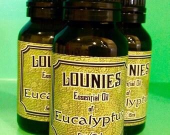 Eucalyptus Essential Oil 15mls