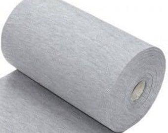 Light Grey marl Ribbing, Cuff and waistband material