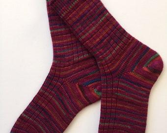 Hand Cranked, Ladies' Regia Wool Socks