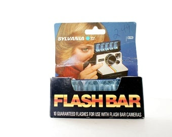 Flash Bar for SX-70 Polaroid Cameras New Old Stock