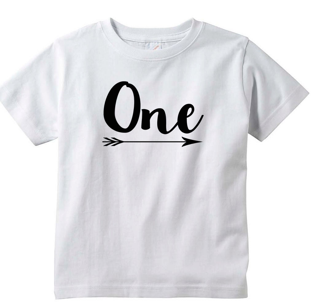 First Birthday One Shirt Boy Or Girl 1st Happy