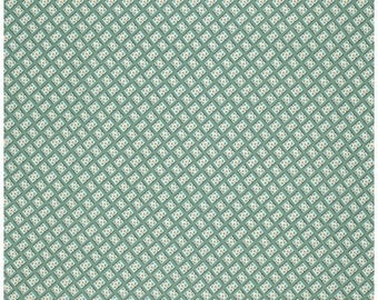 Hadley by Denyse Schmidt - Dot in Square Hydrangea (PWDS075.HYDRA) Free Spirit - 1 Yard