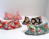 Set of FOUR (4) for 28 - Lavender Scented Aroma Therapy Eye Pillow - Aromatherapy Yoga Mask - MONOGRAM AVAILABLE