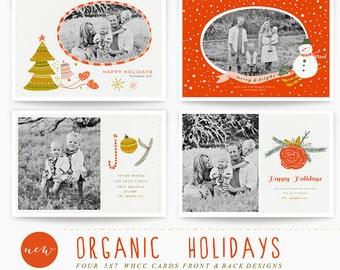 Organic Holidays 5x7 WHCC Cards