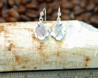 Keweenaw Datolite Earrings