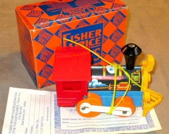 Fisher-Price Toyfest 1989 Toot Toot mint in box
