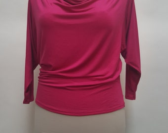 The Batwing top.