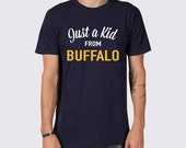 Just a Kid from Buffalo Sabres T-Shirt ( Buffalo Sabres Shirt, Sabres Hockey Shirt, Buffalo New York T-Shirt, NHL Hockey Shirt, Buffalo )
