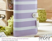 Lavender and White Color Crush Personal Planner Kit-IN STOCK