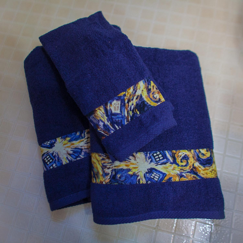 Bath Towels Sale: SALE Custom Bathroom Decor Shower Curtain Bath Towels Hand