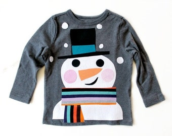 Snow Day Applique by TrashN2Tees