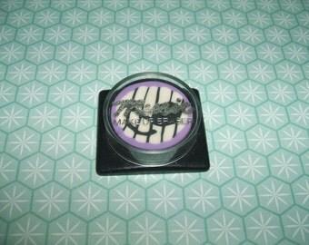 Rare Vintage 1980s MYT Lilac Music Cased Make-Up eraser rubber gomme gommine