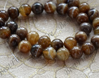 Charming 12mm agate round Gemstone Loose Beads,agate gemstone loose bead,semi-precious stone bead