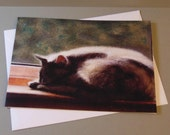 Blue the Cat art card by ...