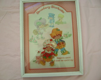 Rare Vintage Strawberry Shortcake Large Picture