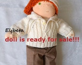Waldorf doll Andrew