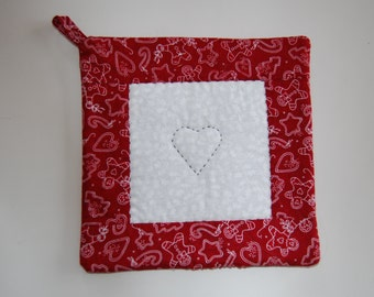 CHRISTMAS SALE, Christmas Pot Holder, Cookie Cutter