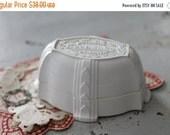 SHOP SALE Vintage Celluloid Ring Box