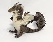 CUSTOM color Raptor art doll