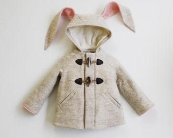 Snowshoe Rabbit Girls Coat