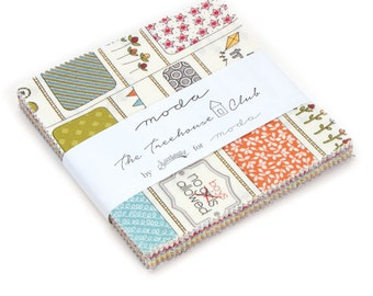 New In Stock - Moda The Tree House Club- Sweetwater - Charm Pack