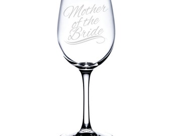 WStandard Wine Glass-12 oz.-7597 Mother Of The Bride