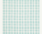 ON SALE - PLAID in Teal (pwtp67) - Rosey by Tanya Whelan - Free Spirit Fabric - By the Yard