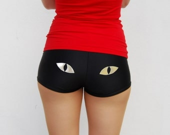 Cat Eye Roller Derby Shorts - Pre-Order