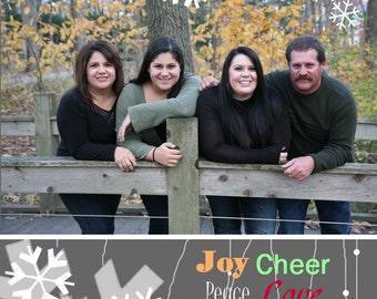 CH 3 - Photo Christmas Card (25 per set)