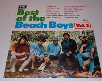 1967 - The Beach Boys - Best Of Volume 2 - LP Vinyl Record Album - 60's Classic Pop - Surf