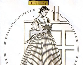 Butterick Making History B4761 Sewing Pattern for Misses' Costume - Uncut - Size 8-10-12-14 or 16-18-20-22