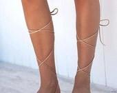 ON SALE lace up sandals, gladiator sandals, leather sandals,wrap up sandals
