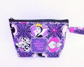 Disney Villains Makeup Bag // Disney Cosmetic Bag