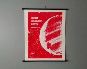 Pioneer Encounters Jupiter NASA Chart