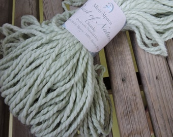 BULKY Weight Yarn - Lemon Grass (BN04) - Misti Alpaca Best of Nature Chunky - Natural Dyes 100g/ 108 yards